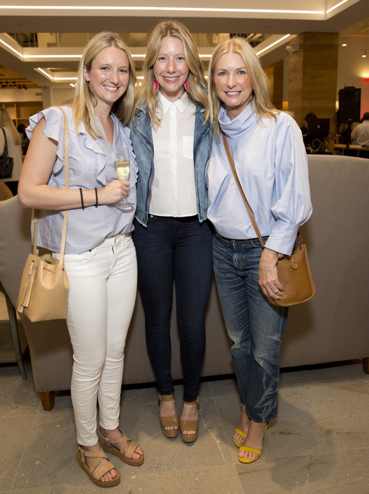 Houston, Saint Bernard opening party, April 2016, Chandler West, Courtney Ross, Tammy West
