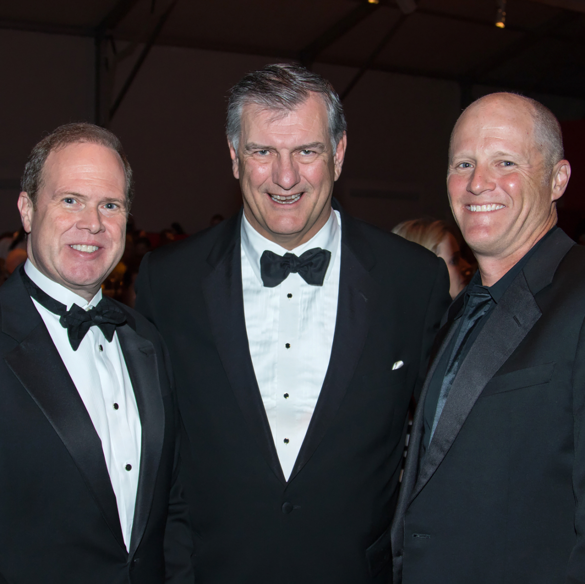 Alan Peppard, Mayor Mike Rawlings, Will Rose