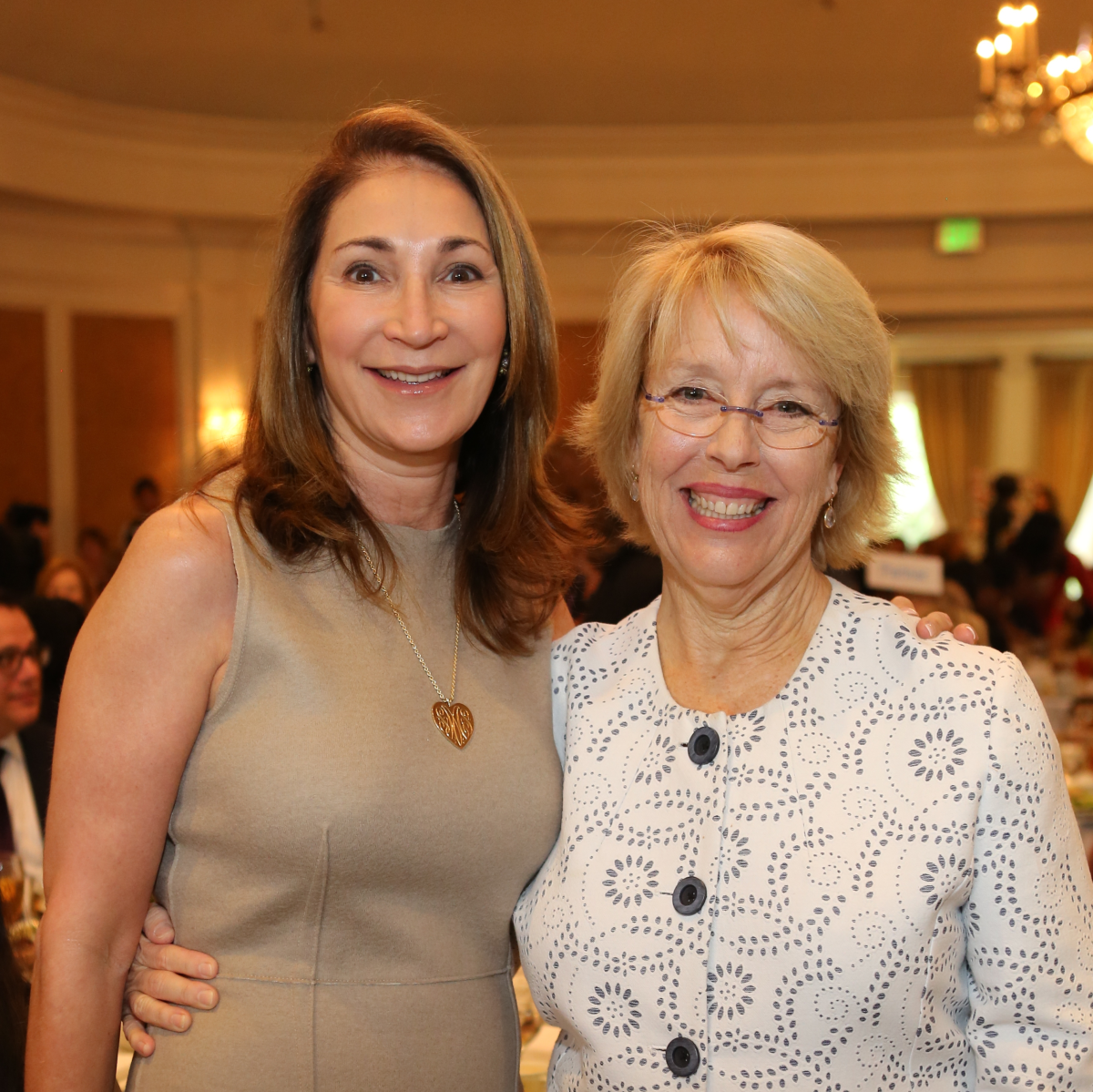 Partners Luncheon 4/16, Soraya McClelland, Susan Cooley