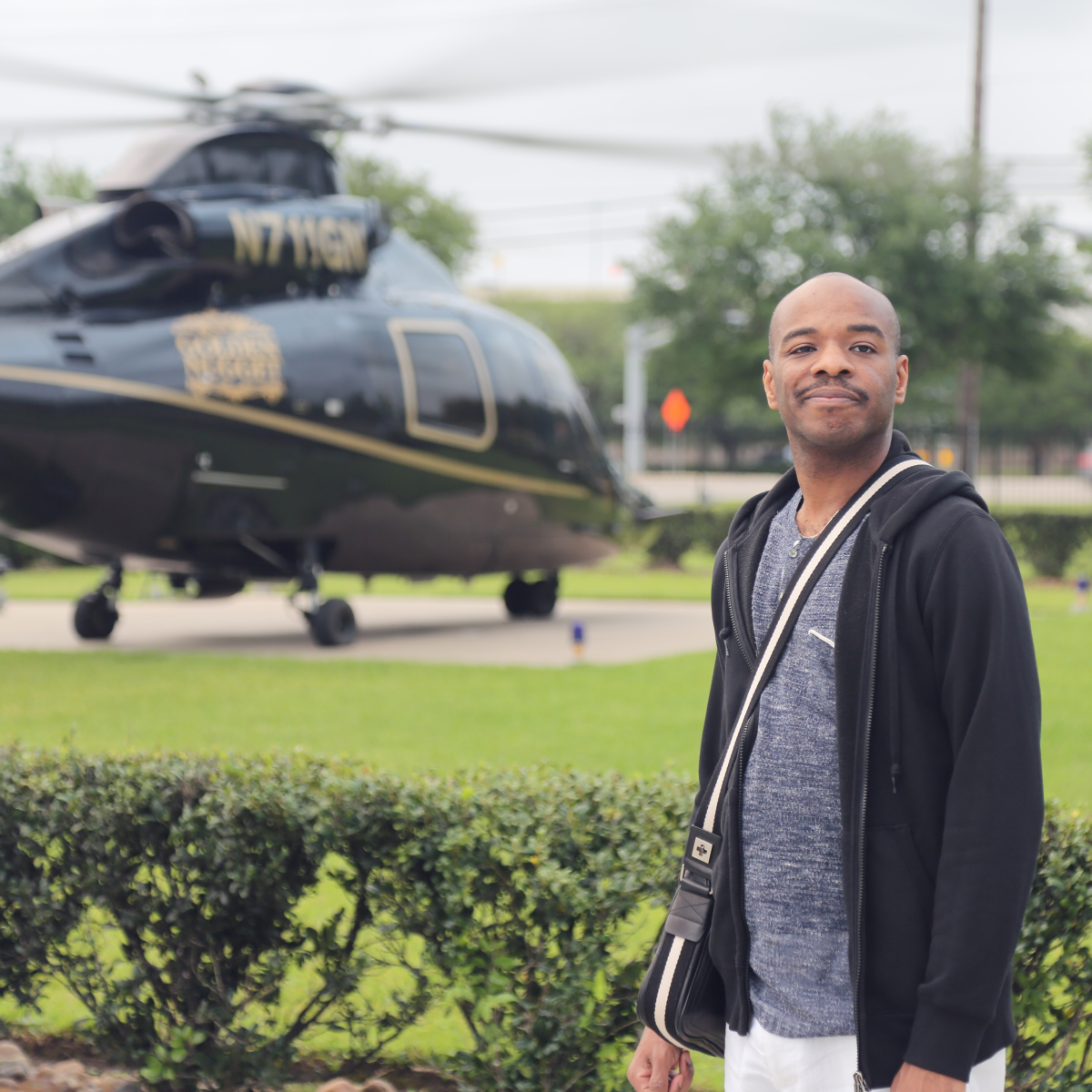 Stephen Wiltshire, Fertitta helicopter