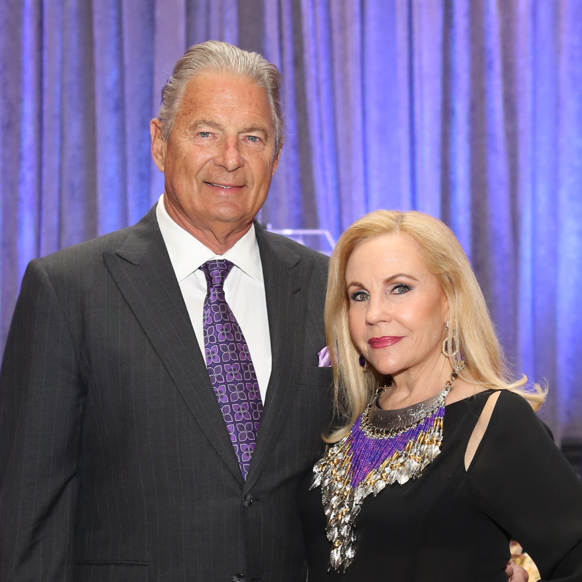 Blue Cure Gala, April 2016, Charles Ward, Carolyn Farb,
