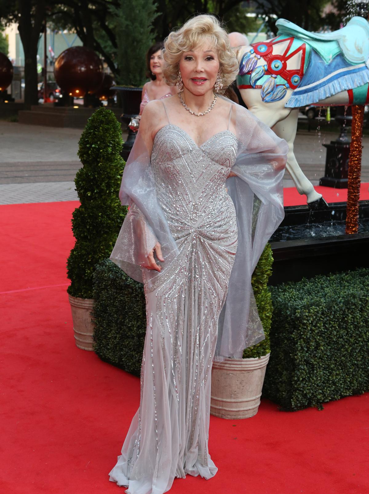 Houston, Opera Ball Gowns, April 2016, Joanne Herring in Faviana.
