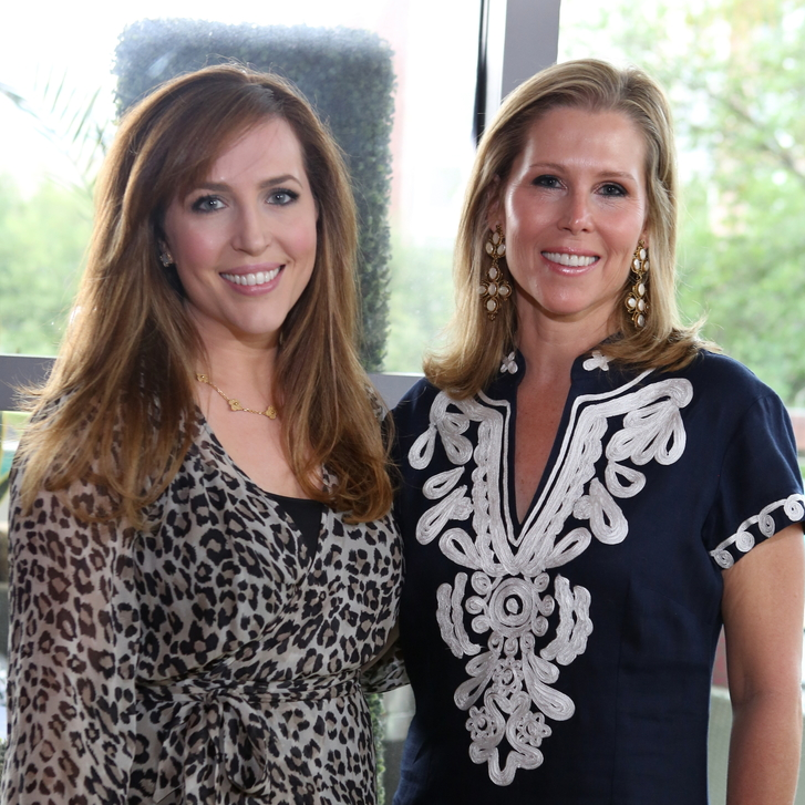 Houston Ballet Barre dinner, April 2016 Mary Patton, Holly Whitaker