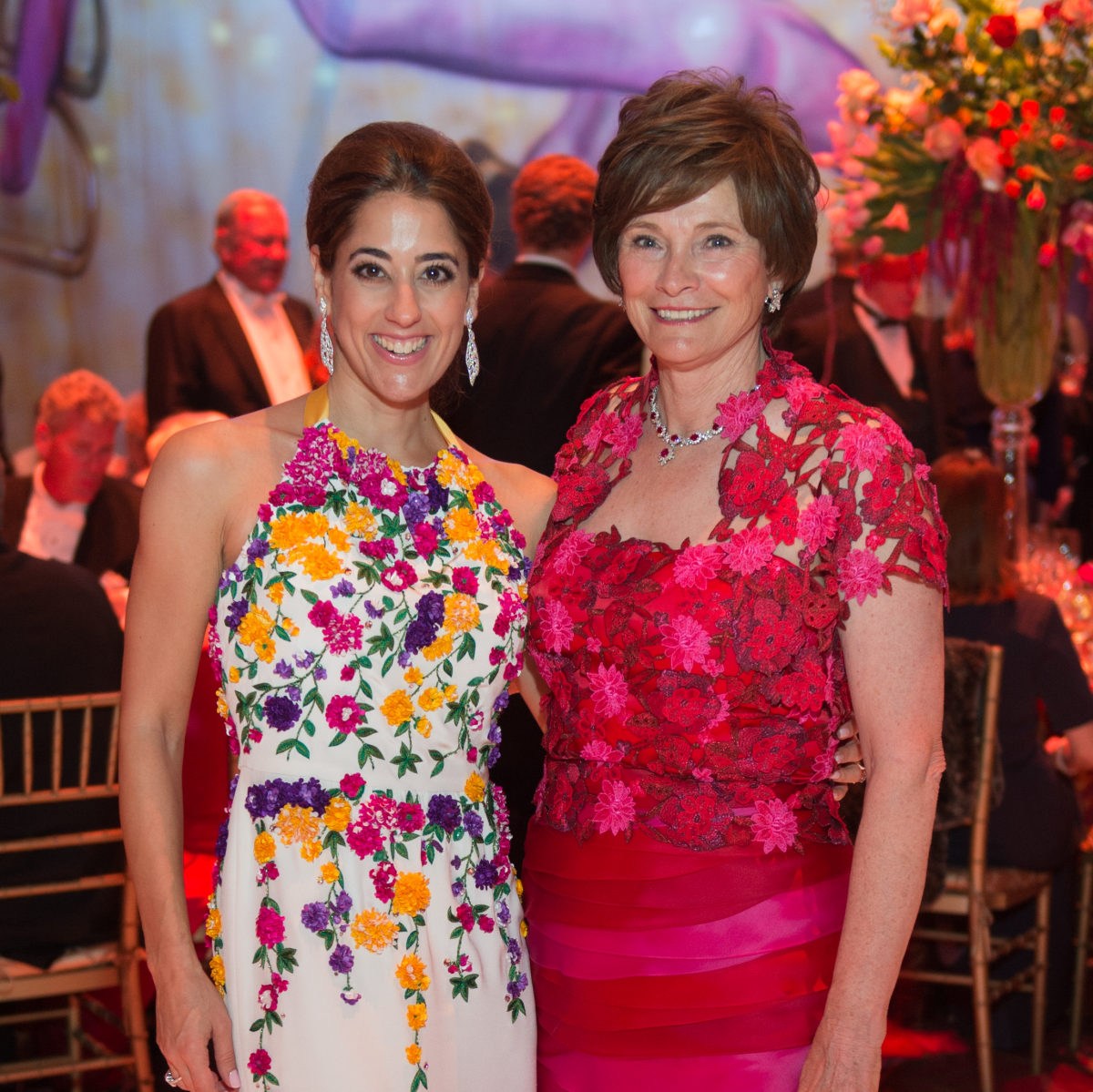 Houston Grand Opera Ball, 4/16  Kristina Somerville, Bobbie Nau