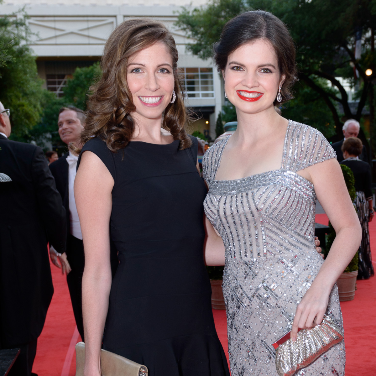 Houston Grand Opera Ball, April 2016 Allison Savire, Sarah Dunagin