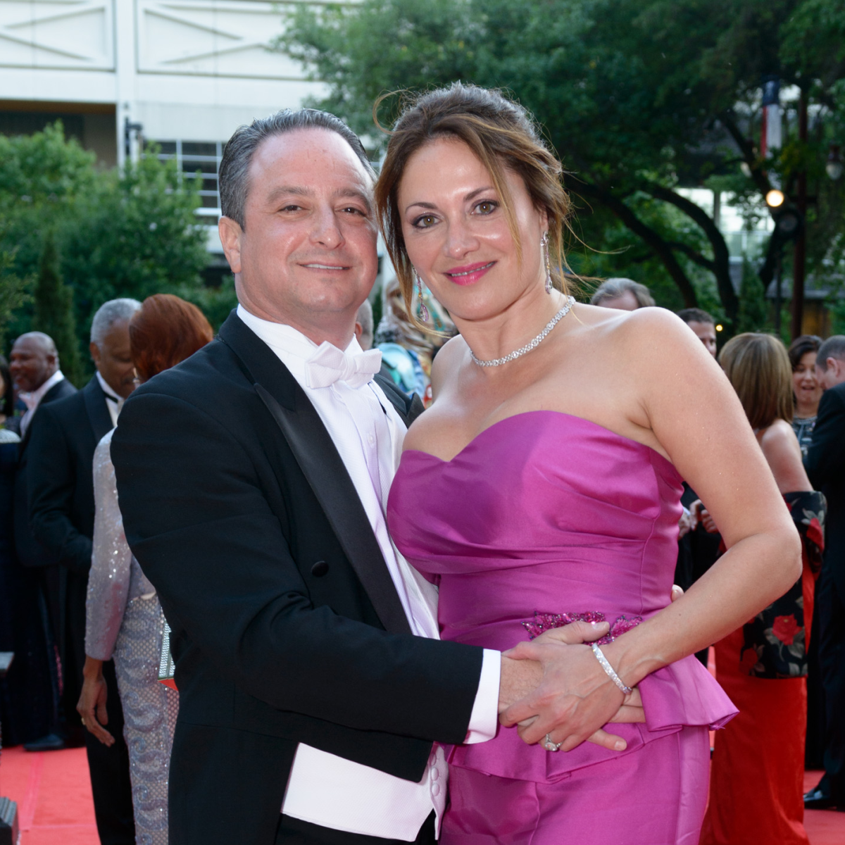 Houston Grand Opera Ball, April 2016 Carlos Treistman, Katherine