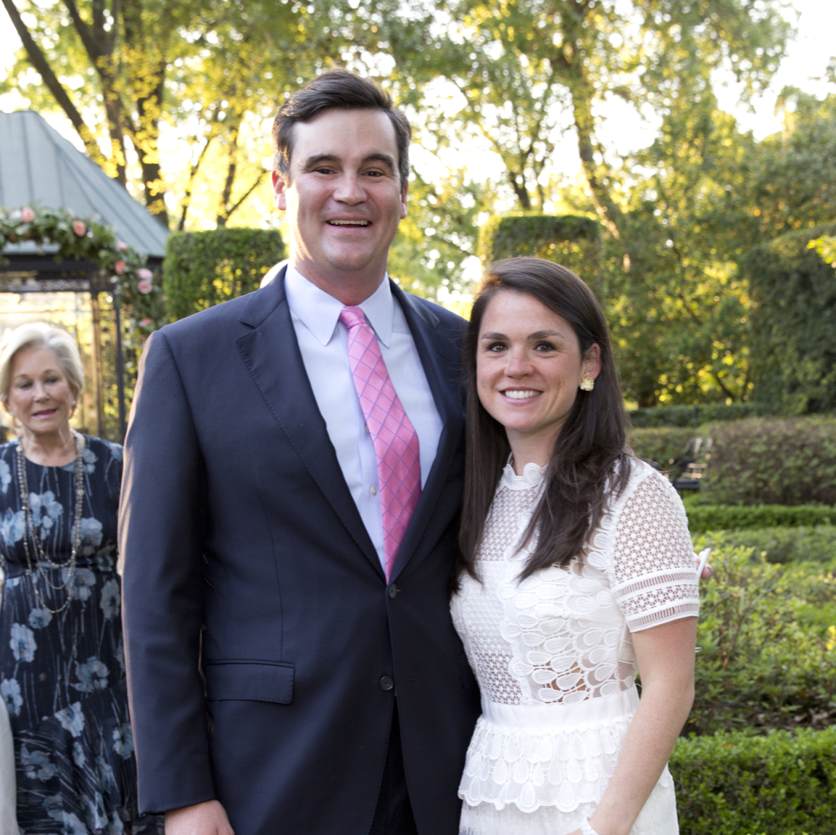 Bayou Bend Garden Party, April 2016, Matthew Goossen, Lacey Goossen