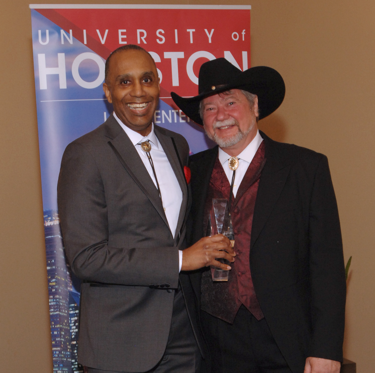 UH Law gala, April 2016, Dean Leonard Baynes, Jim Roach