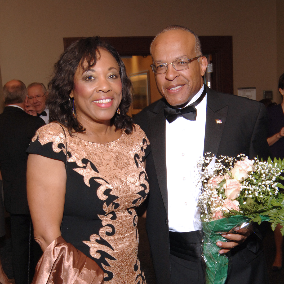 UH Law gala, April 2016, Judge Vanessa Gilmore, Kevin Moore