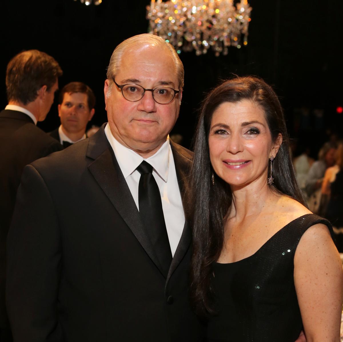 Mercury Gala, April 2016, Tony Petrello, Cynthia Petrello