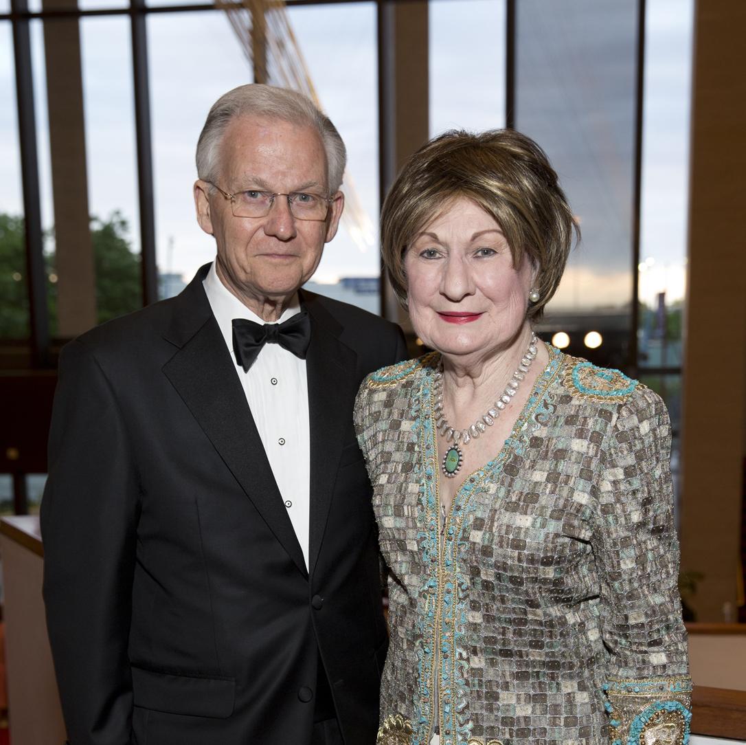 Symphony Wine Dinner, April 2016, Harry Mach, Cora Sue Mach