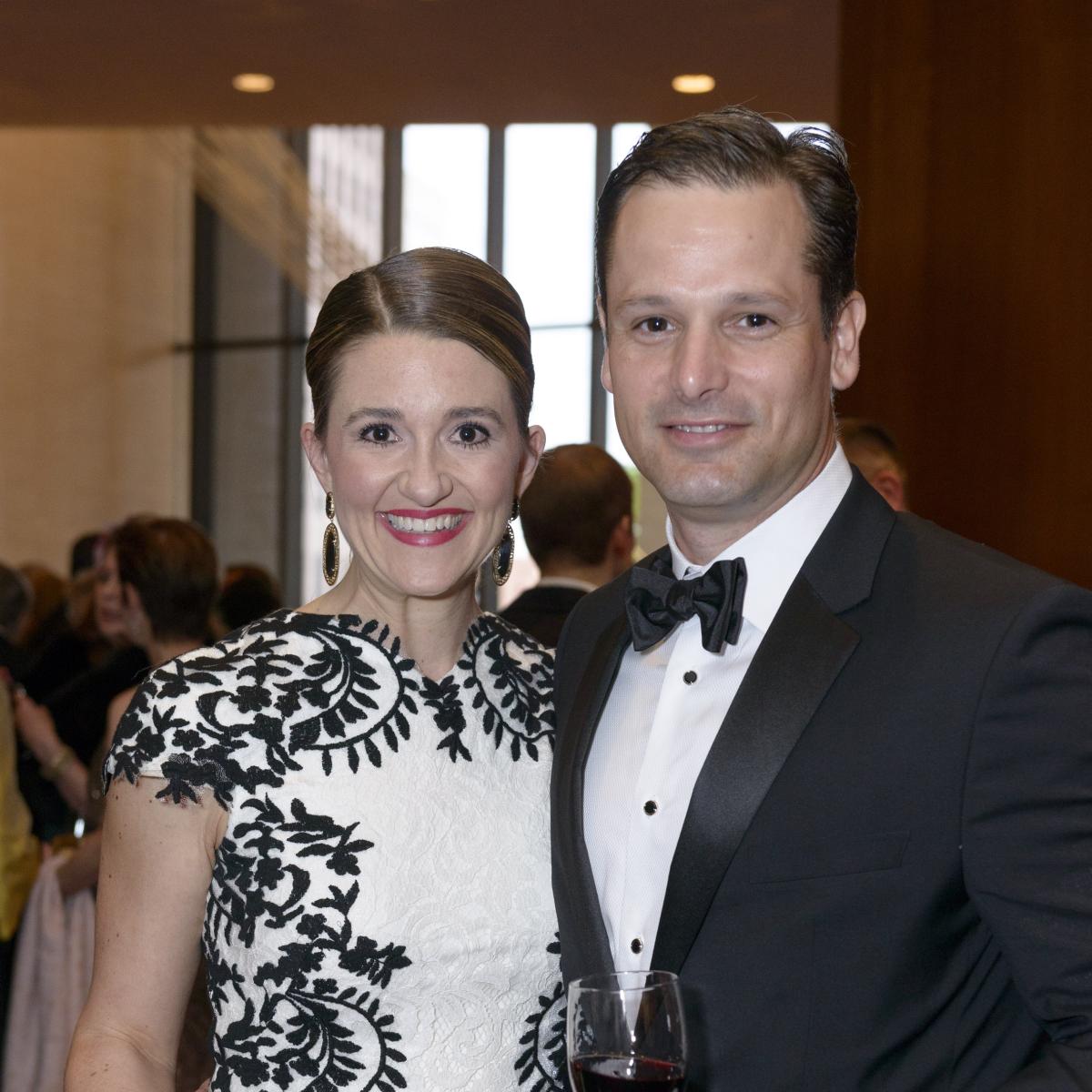 Symphony Wine Dinner, April 2016, Matt Porter Olivia Porter