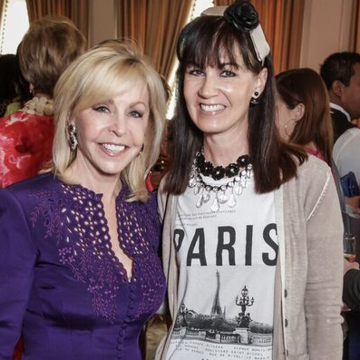 Suzanne Dawley, Bethe Muecke at Passion for Fashion luncheon
