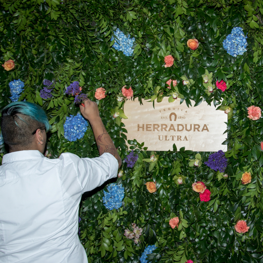 CultureMap Dallas Ultra Social floral wall