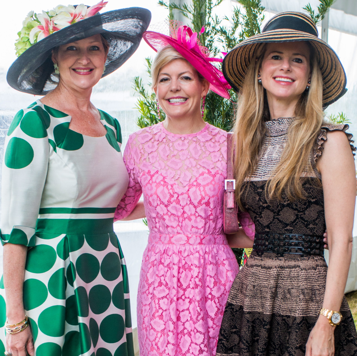 Hats in the Park, March 2016, Joella Mach, Michelle Foutch, Blakely Griggs