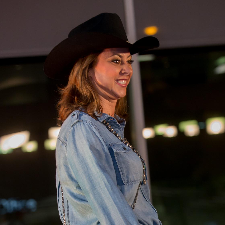 Cattle Baron's Fashion Show, March 2016,  Lauren Maloy