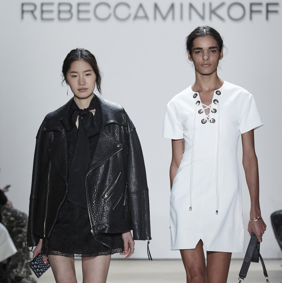 Rebecca Minkoff Look 13A and 13B