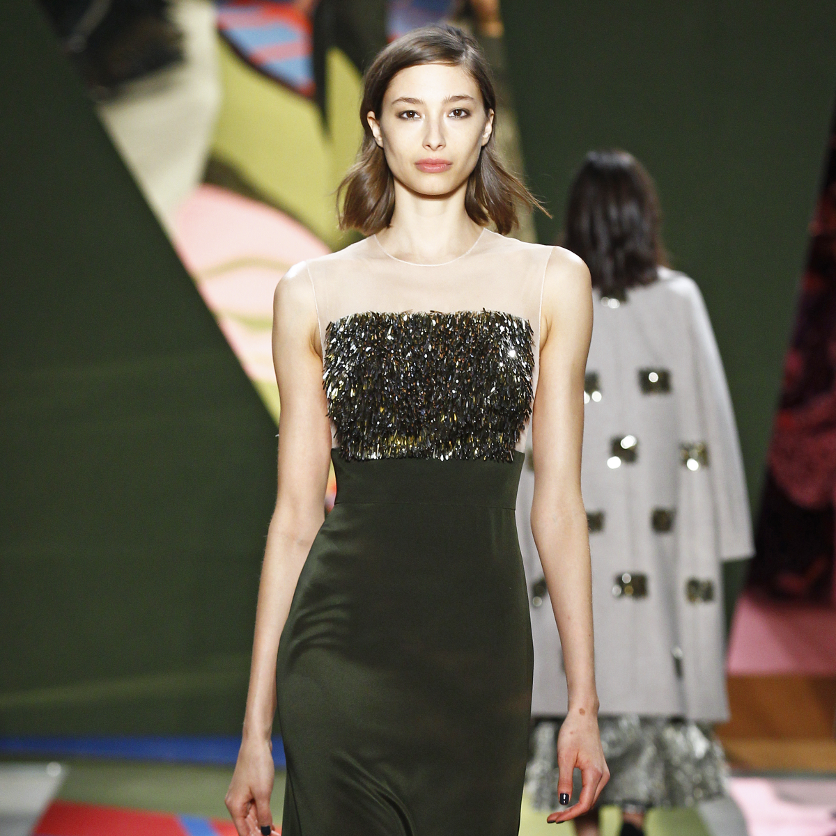 Lela Rose gown fall 2016 collection