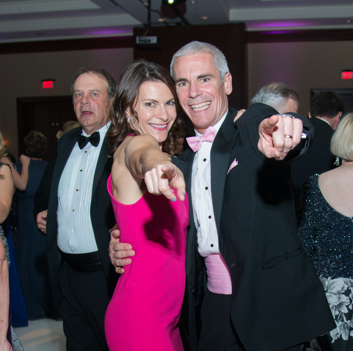 Komen Foundation Gala, Feb. 2016, Trish Hayes, Andrew Hayes