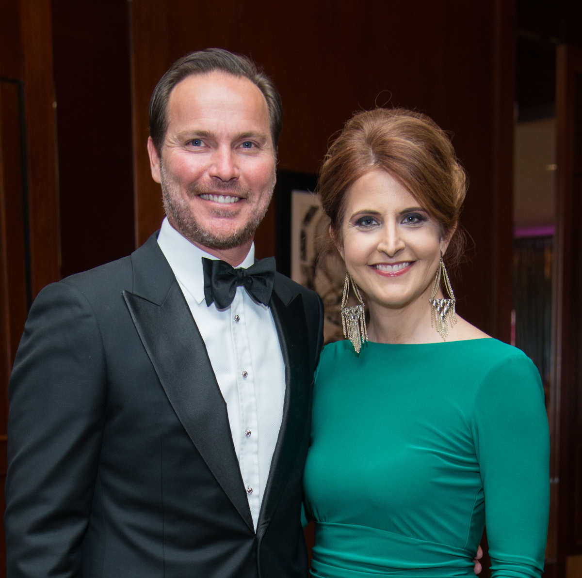 Komen Foundation 25th Gala, Feb. 2016, Jonathan Brinsden, Carrie Brinsden