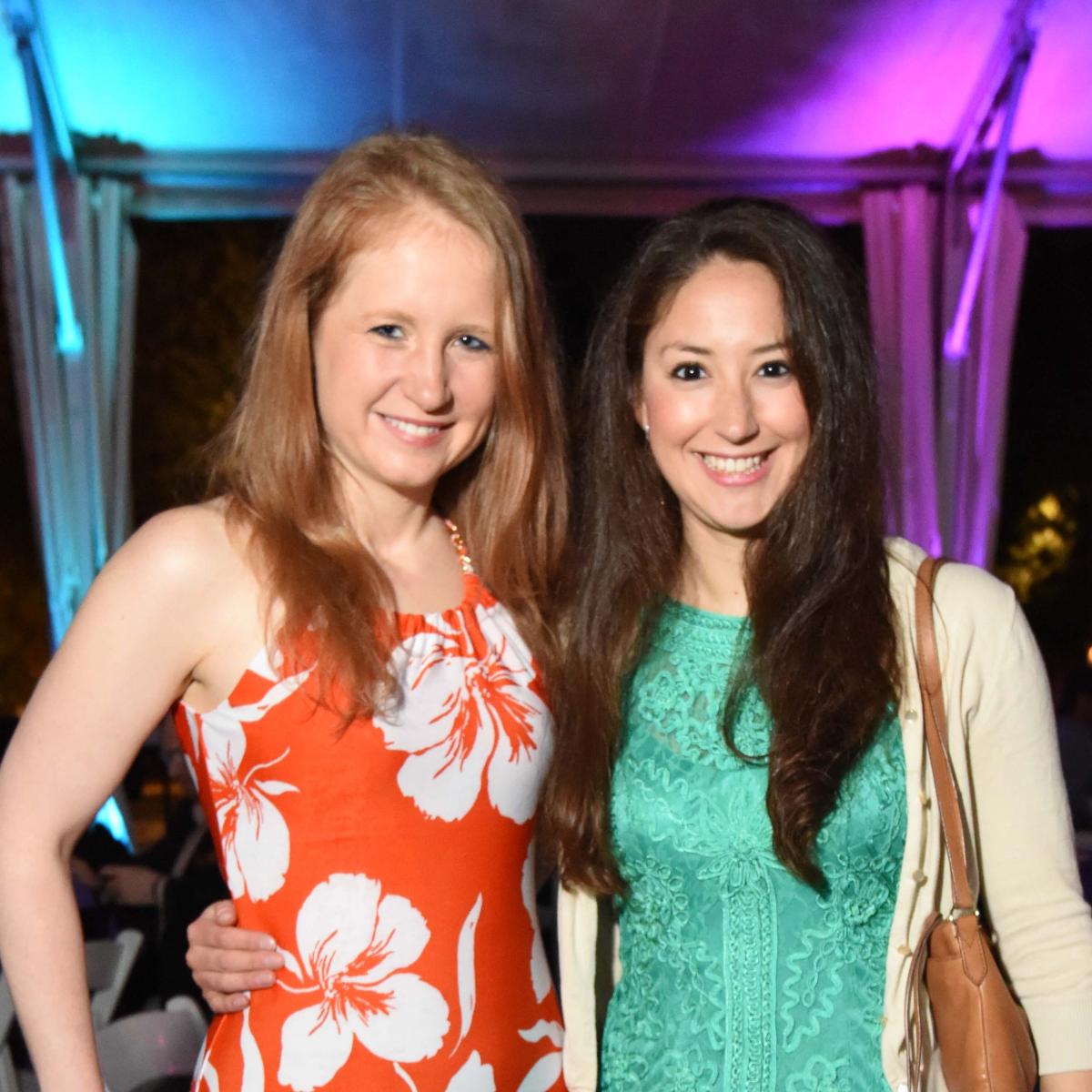 Houston Zoo Ambassadors Gala Sarah O' Shea, Cristina Masson