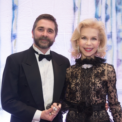 Houston Ballet Ball, Feb. 2016, Stanton Welch, Lynn Wyatt