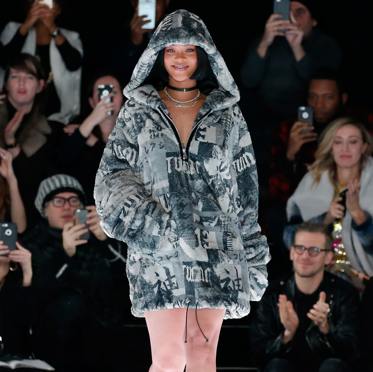 Rihanna Fenty x Puma show at New York Fashion Week