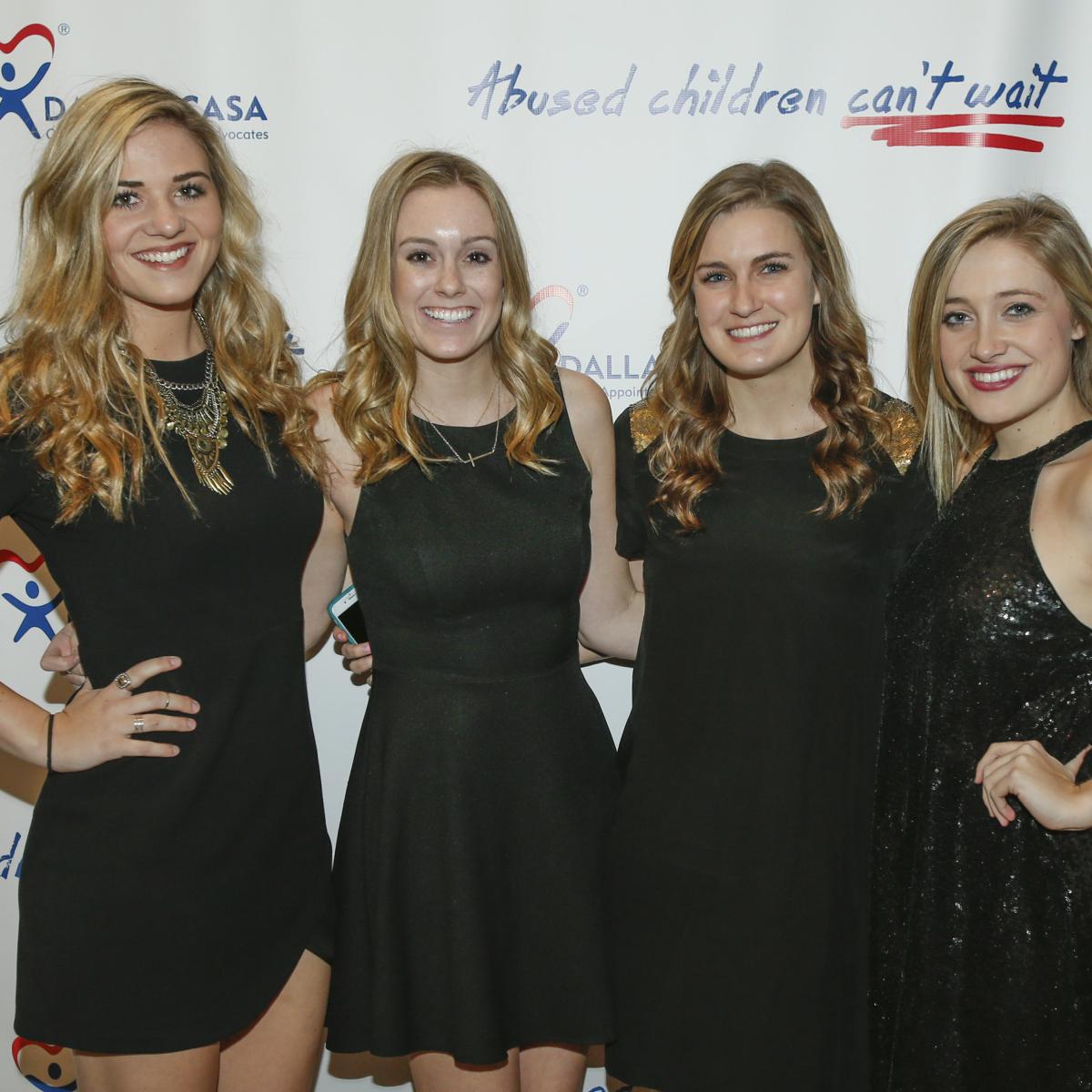 Morgan Spencer, Emily Vander Lans, Ali Achord and Sarah Hauke