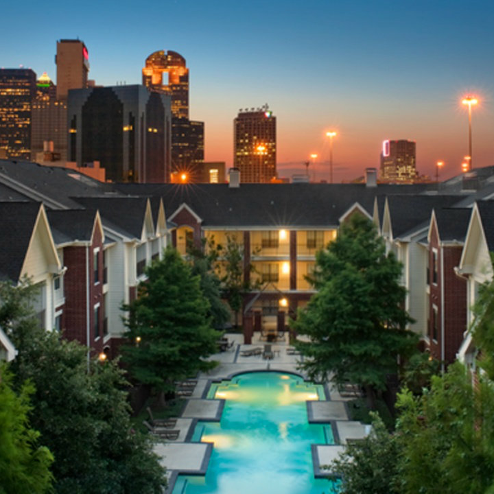 Camden Farmers Market apartments in Dallas