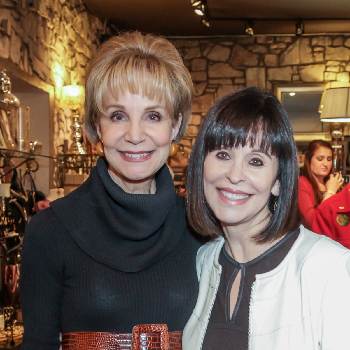 Ben Rose fundraiser Leisa Holland-Nelson, Sandra Porter