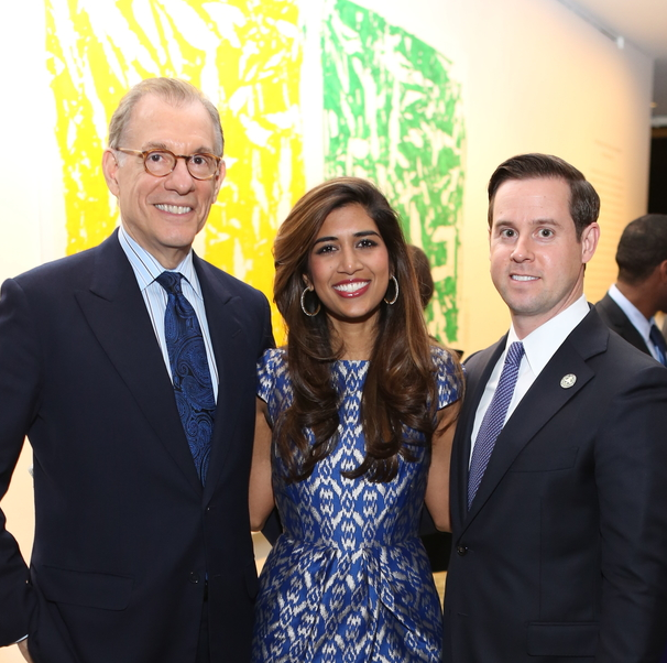 News, Mayor Sylvester Turner Inauguration, Jan. 2016, MFAH, Gary Tinterow, Divya Brown, Chris Brown