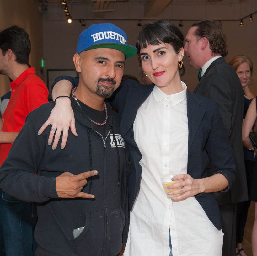 News, DiverseWorks MATCH party, Dec. 2015 Gonzo247, Alisa Mittin