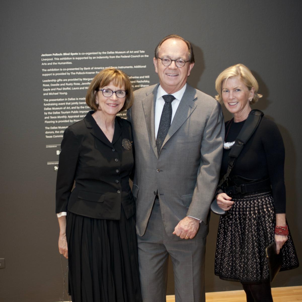Laura Elcock, Walter Elcock, Marguerite Hoffman
