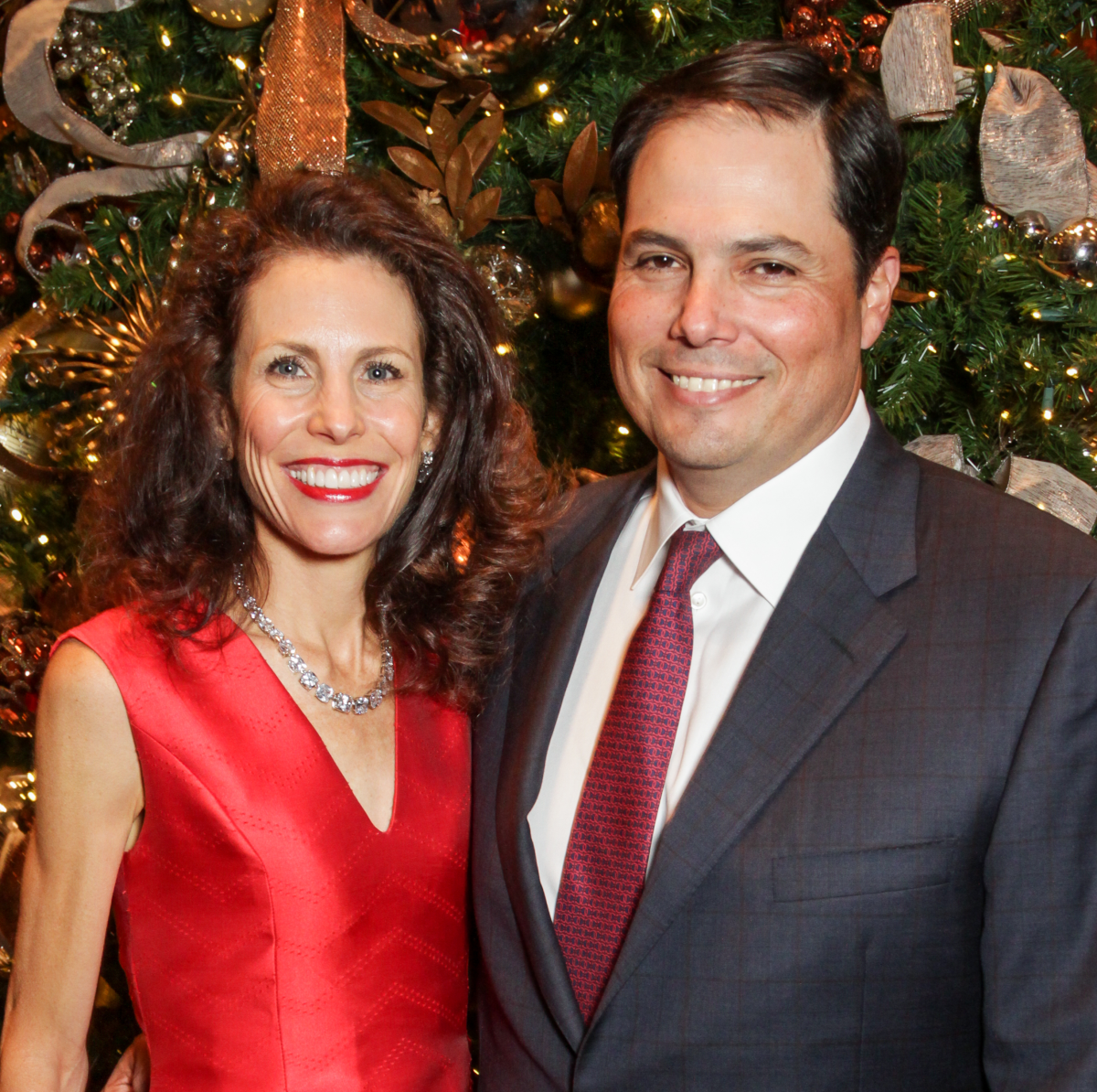 News, Greater Houston Women's Chamber of Commerce Gala, Dec. 2015, Gina and Carl L una