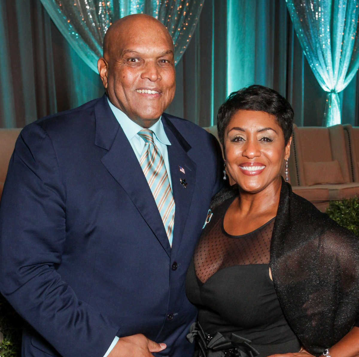 News, Greater Houston Women's Chamber of Commerce Gala, Dec. 2015, Lou Gregory, Linda Lorelle