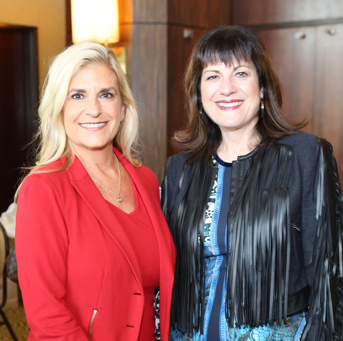 News, Shelby, Child Advocates Angels of Hope luncheon, Dec. 2015, Vicki Lehner, Ellie Francisco