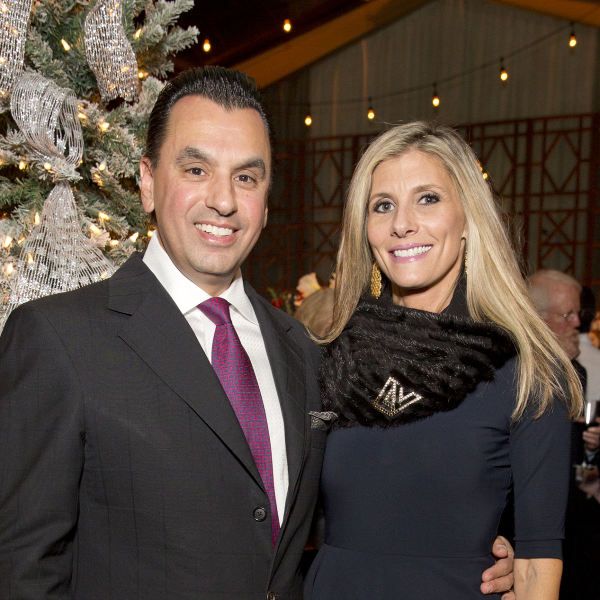TCH Ambassadors holiday party Devinder Bhatia, Gina Bhatia