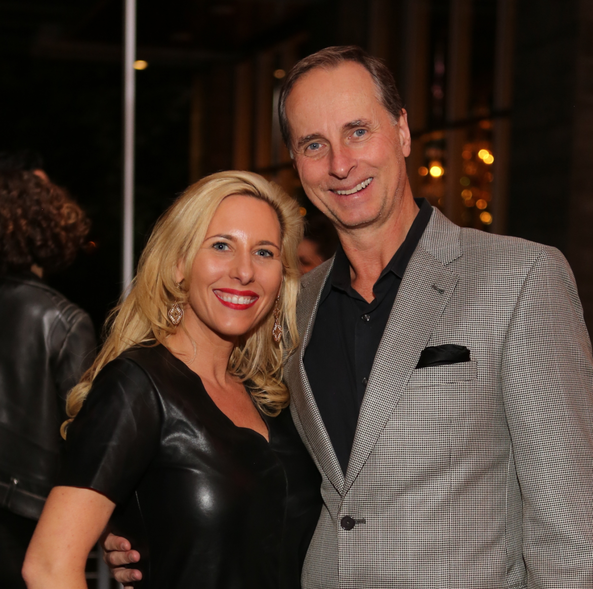 News, Equinox Opening Dinner, Dec. 2015, Tracy Faulkner, Harry Faulkner