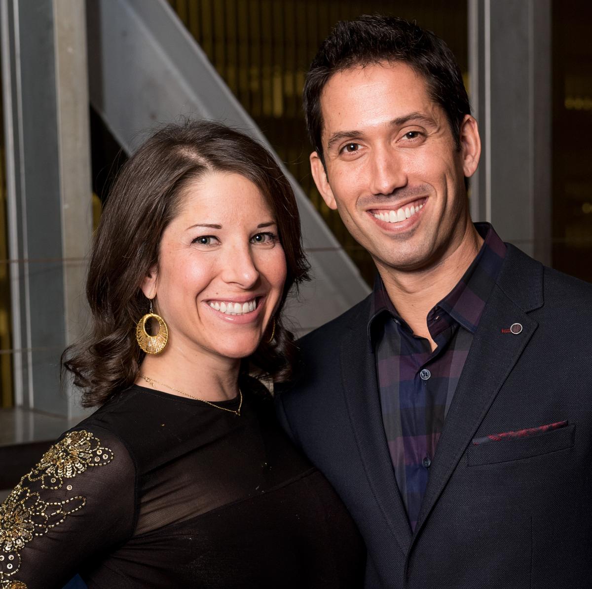 News, NCJW gala, Nov. 2015, Esther Freedman, Doug Freedman