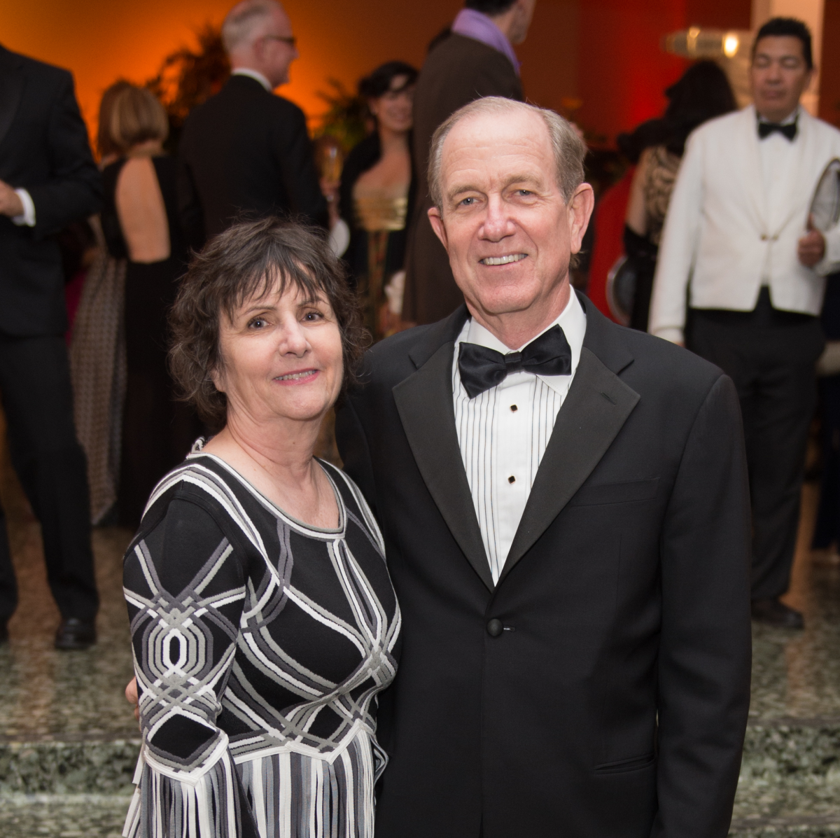 NEws, MFAH Latin Experience, Nov. 2015 Leslie Bucher, Brad Bucher