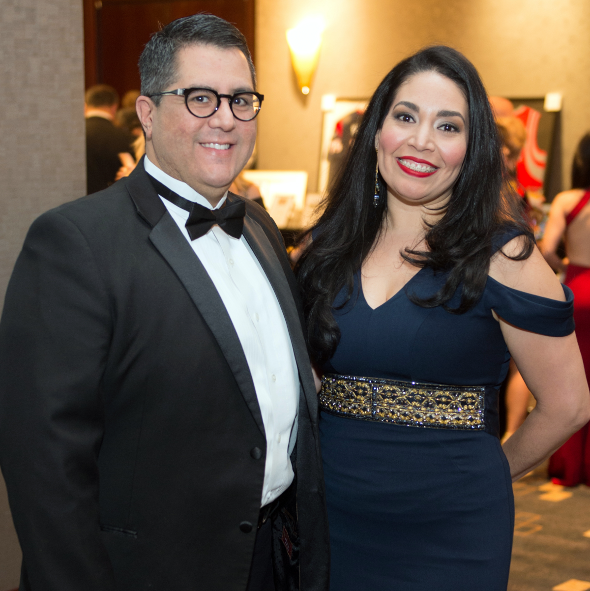 Houston, Pink Door Night of the Phoenix Gala, November 2015, Dr. Roland Maldonado, Enid Sanchez