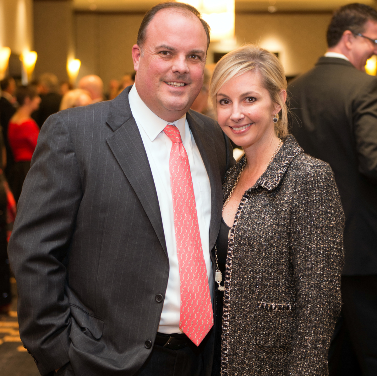 Houston, Pink Door Night of the Phoenix Gala, November 2015, Kevin and Amy Gordon