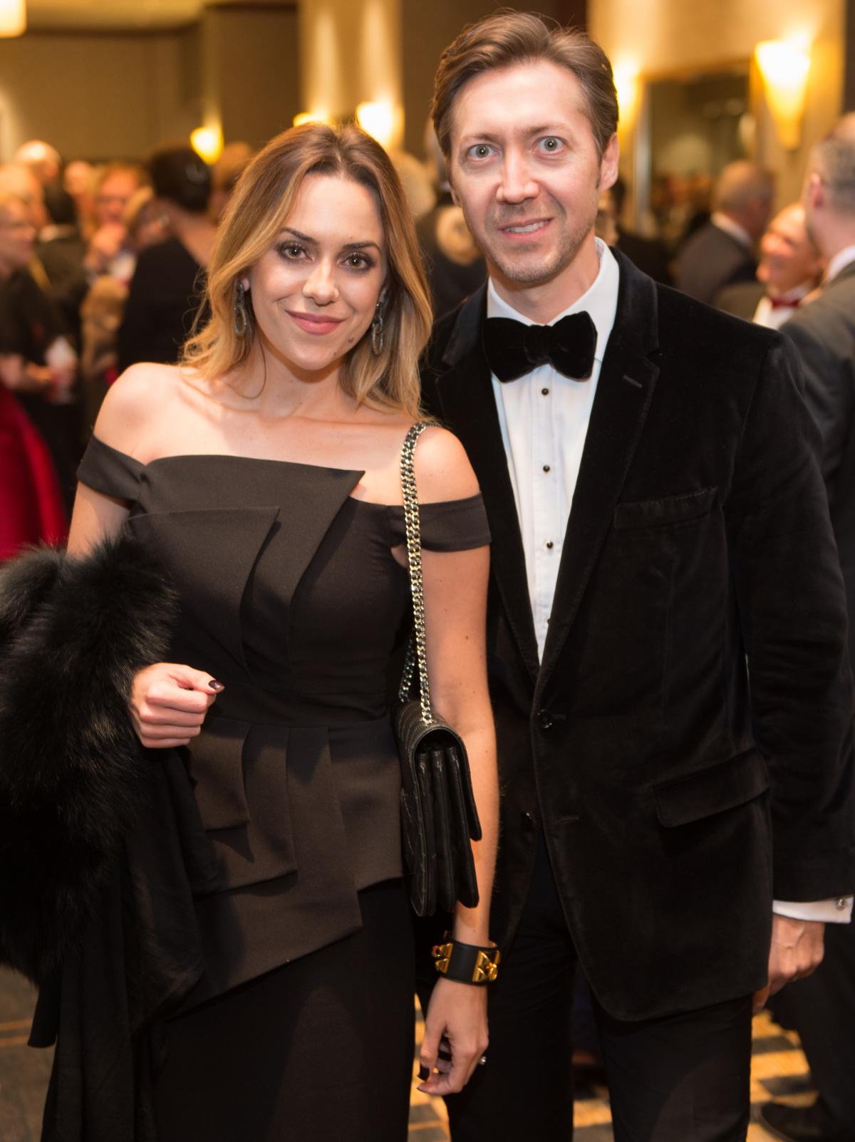 Houston, Pink Door Night of the Phoenix Gala, November 2015, Erica and Vadim Sherman