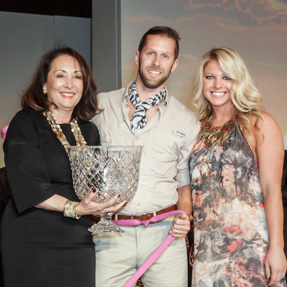 CAP Gala Penny Loyd, Celebrity Pet winners Austin Cornelius and Marian Cornelius
