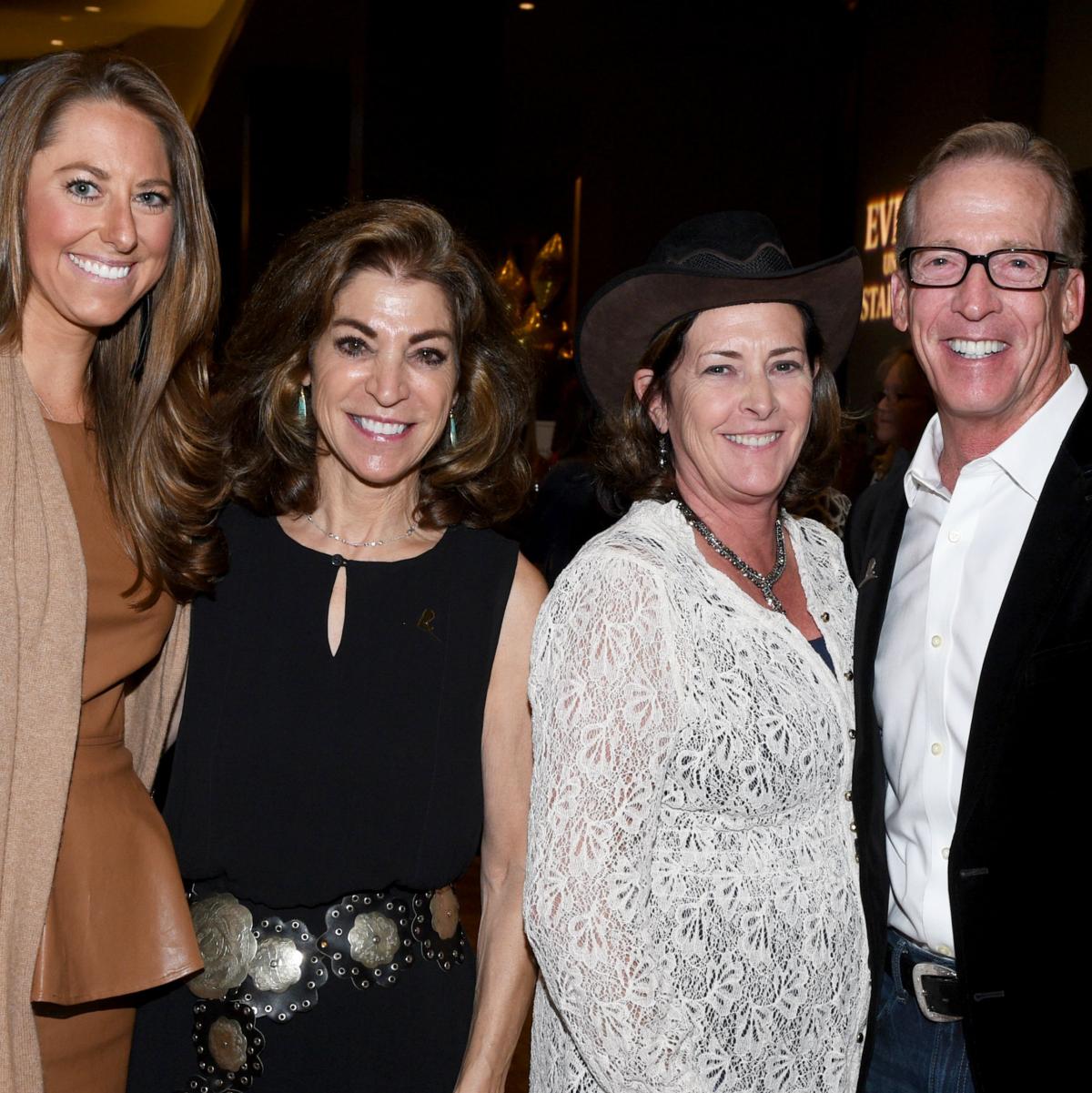 Mimi Rose, Marian Bryan, Kathy & Tim Lyons