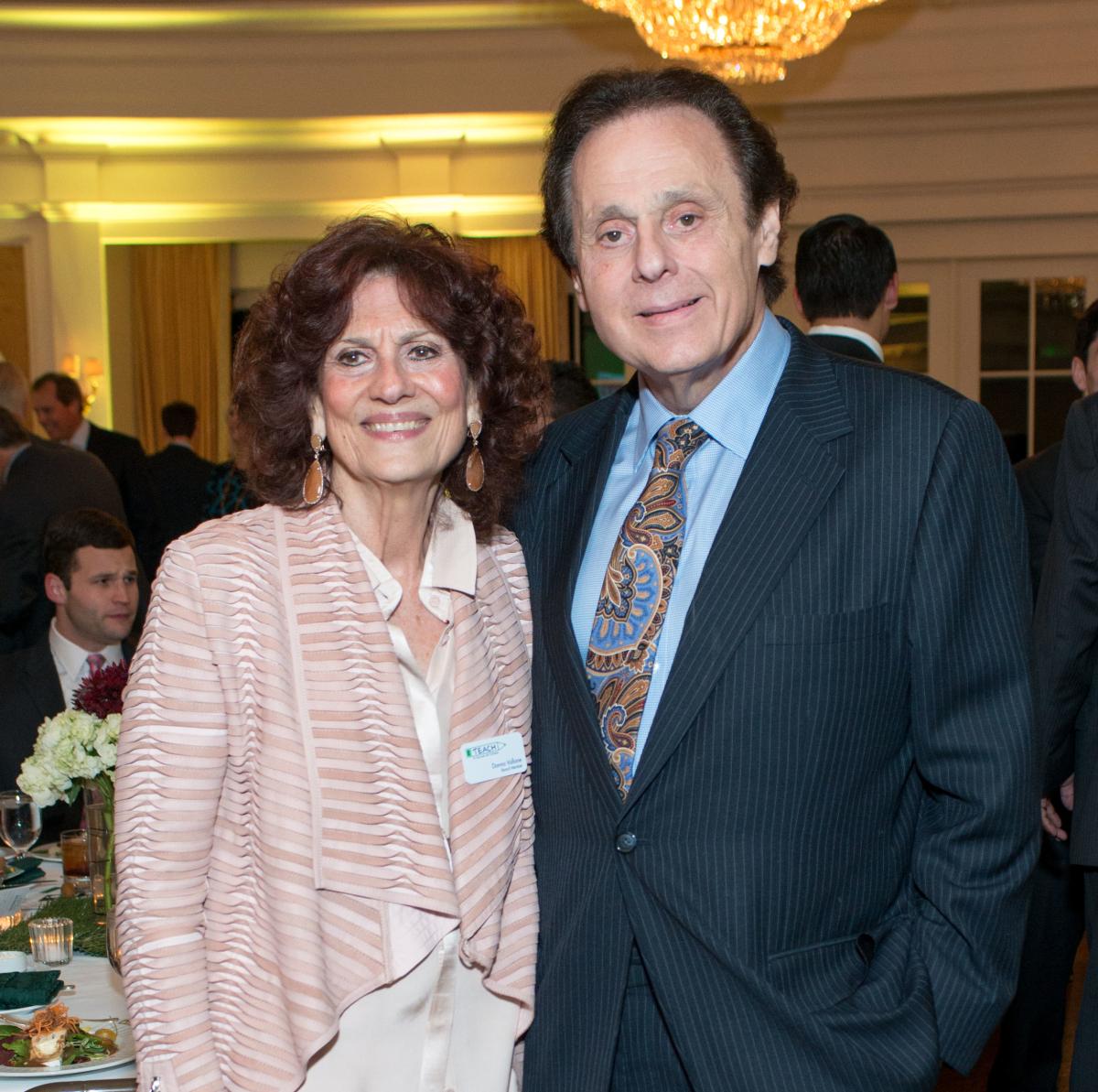 News, Shelby, TEACH dinner, NOv. 2015, Donna Vallone, Tony Vallone