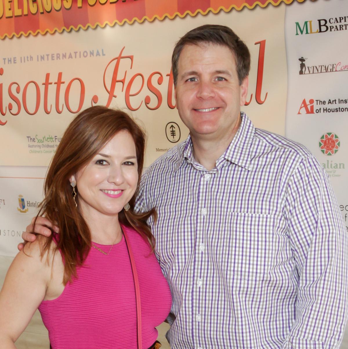Risotto Festival Donae and Rob Chramosta