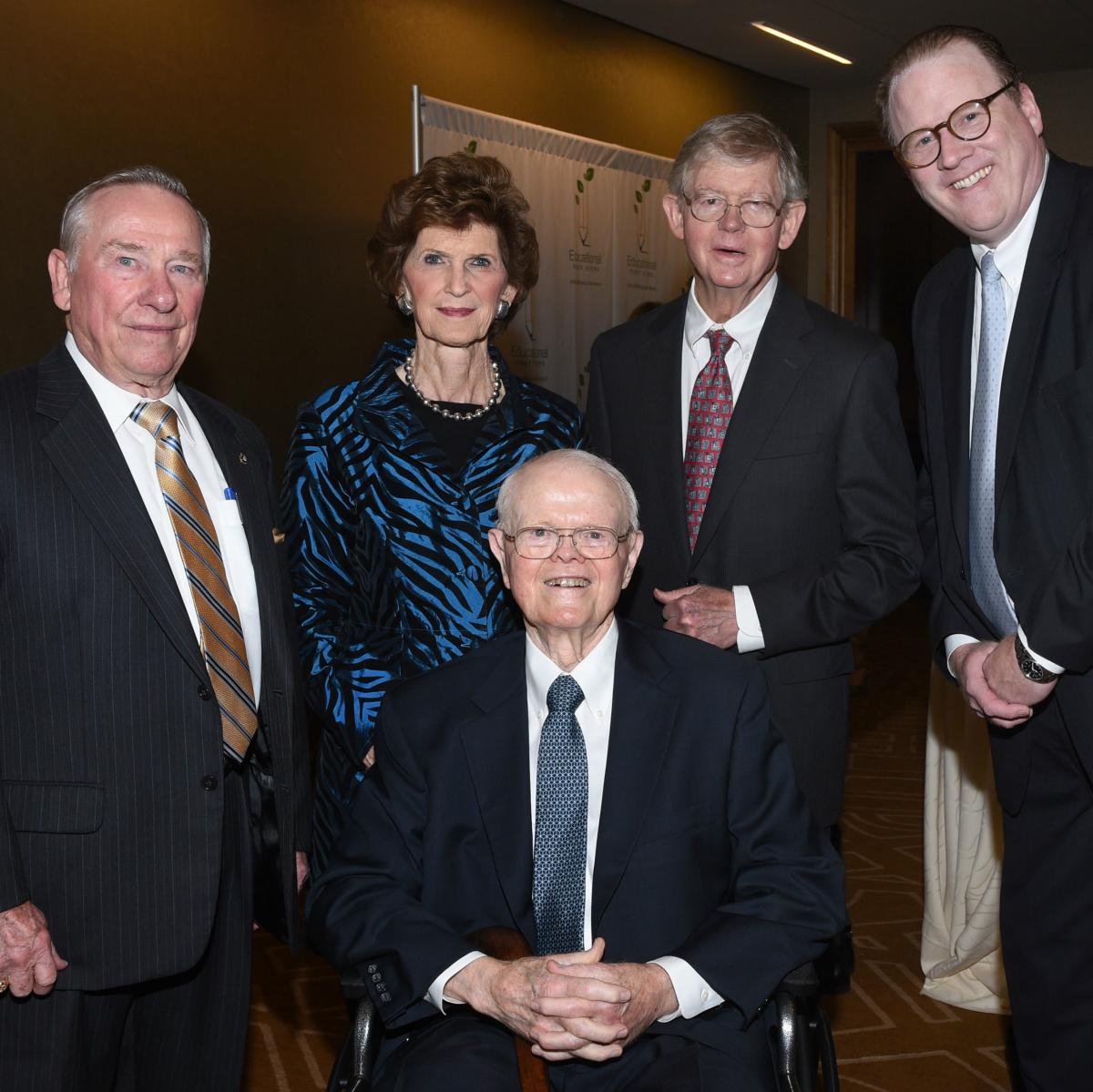 Linus Wright, Sandra Estess, Dave Munson, Henry Estess, John Kerr Munson