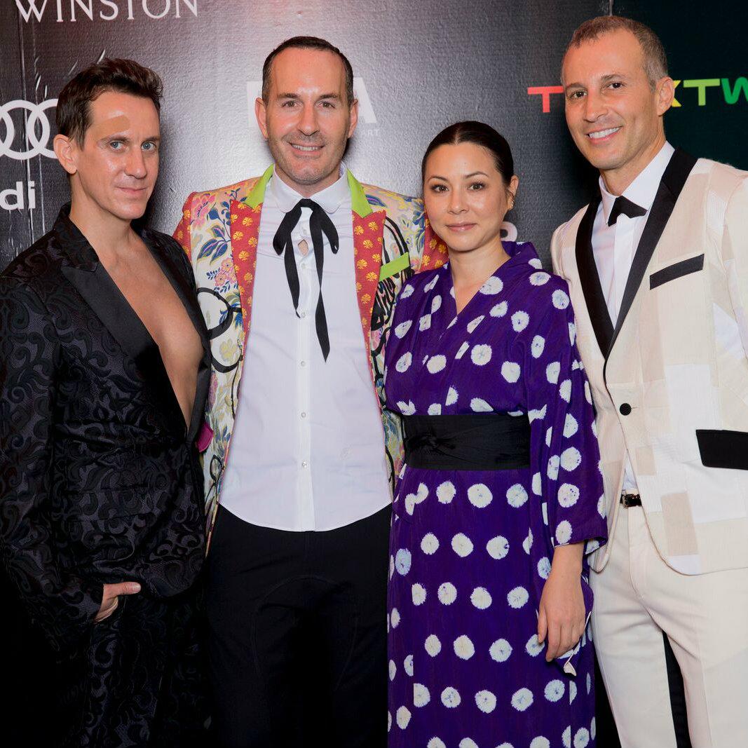 Jeremy Scott, Brian Bolke, China Chow, Faisal Halum