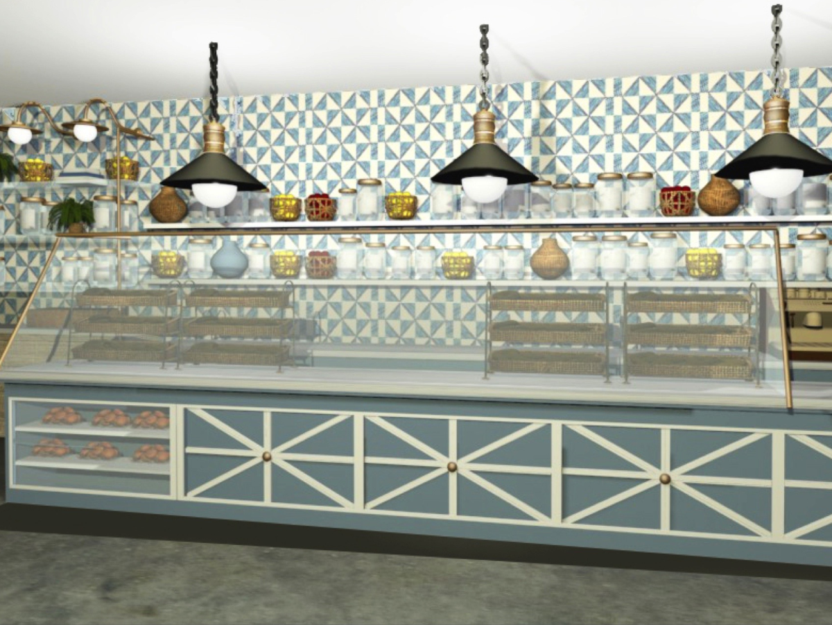 La Table bakery rendering